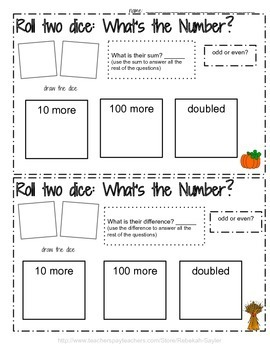 2nd Grade Thanksgiving: Math, Reading, Writing, and Science
