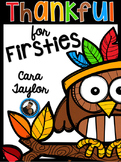 Thanksgiving No Prep Printables for First Grade