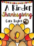 Thanksgiving No Prep Printables for Kindergarten