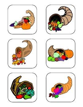 Thanksgiving Non-Identical Matching Task