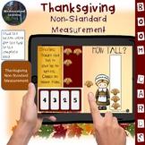 Thanksgiving Non Standard Measurement Interactive Digital Boom Flash Cards