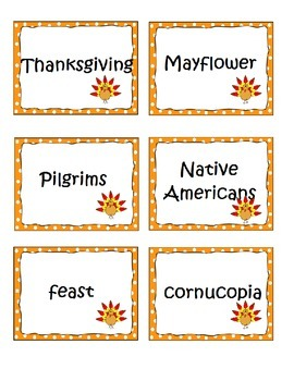 Thanksgiving Non-fiction and Fiction Graphic Organizers