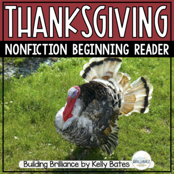 Thanksgiving Emergent Reader {Nonfiction}