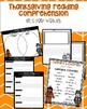 Thanksgiving Nonfiction Task Cards Test Prep & Writing
