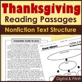 Thanksgiving Nonfiction Text Structure Articles