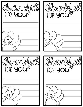 Thanksgiving Notes
