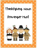 Thanksgiving Noun Scavenger Hunt