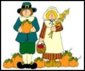 Thanksgiving Noun Sort for People, Animal or Thing