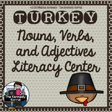 Nouns, Verbs, Adjectives: Thanksgiving