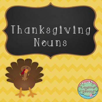 Thanksgiving Nouns Worksheet