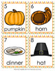 Thanksgiving Nouns Write The Room Activity
