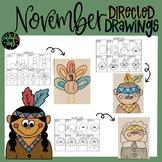 Thanksgiving/November Directed Drawings