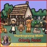 Thanksgiving & November Math Activity Packet