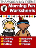Thanksgiving November Worksheets