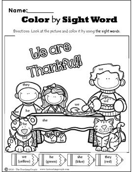 Thanksgiving November and Christmas December NO PREP Literacy Pack