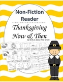 Thanksgiving Now & Then Nonfiction Book Close Activity