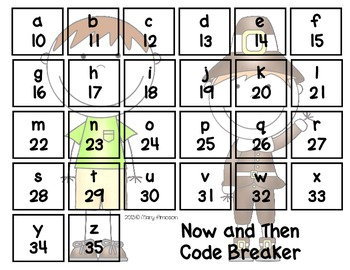 Now and Then Secret Code Words