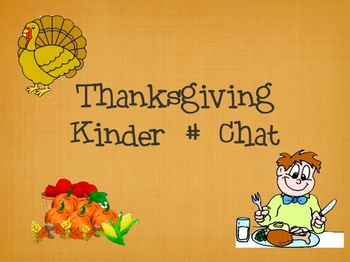 Thanksgiving Number Chat