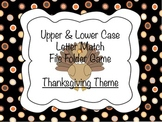Thanksgiving Number File Folder Game
