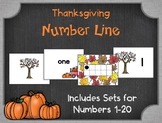 Thanksgiving Number Fun! Numbers 1-20