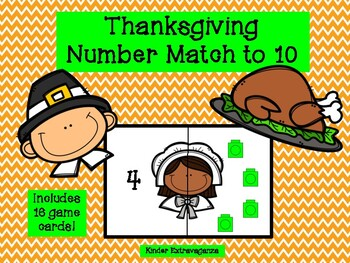 Thanksgiving Number Match to 10