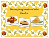 Thanksgiving Number Order Puzzle