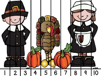 Thanksgiving Number Puzzles 1-20