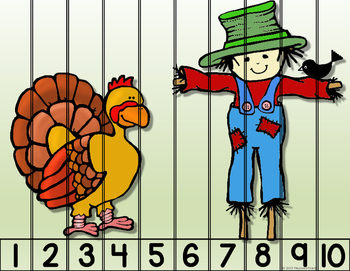 Thanksgiving Number & Alphabet Puzzles
