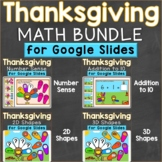 Thanksgiving Number Sense, Addition to 10 Google Classroom