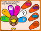 Thanksgiving Number Sense Boom Cards Numbers, Tally Marks, 10 Frames, Subitizing