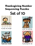 Thanksgiving Number Sequence Puzzles