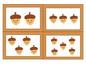 Thanksgiving Number/Picture/Tally Matching Math Center