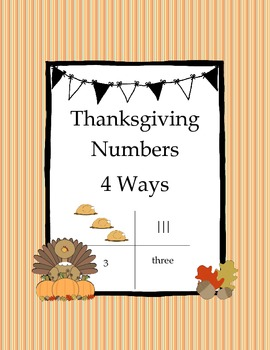 Thanksgiving Numbers 4 Ways