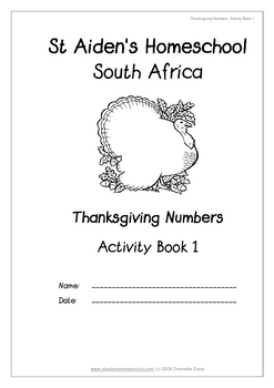Thanksgiving Numbers and Counting Activities