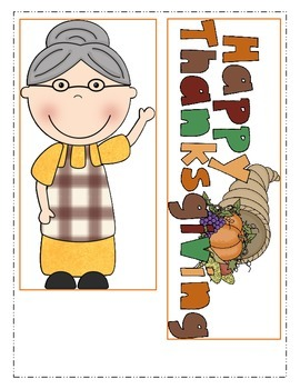 Thanksgiving-Old Lady Who Swallowed a Pie! Literacy and Math Activities