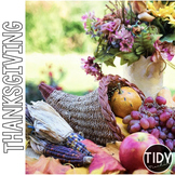Thanksgiving Online Scavenger Hunt PebbleGo Activity Sheet