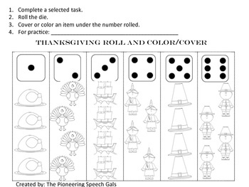 Thanksgiving Open-ended Game Boards