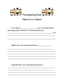 Thanksgiving Opinion Essay