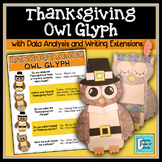 Thanksgiving Owl Math Graphing Craftivity