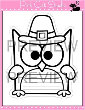 Thanksgiving Writing Owl Theme Bulletin Board: Thanksgiving Activities