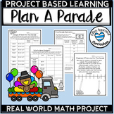 Christmas Project Based Math Learning Activity 4th 5th Grade PBL Math