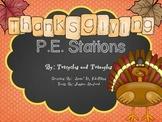Thanksgiving P.E. Stations