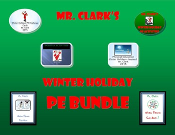 Thanksgiving PE and Winter Holiday PE Bundled