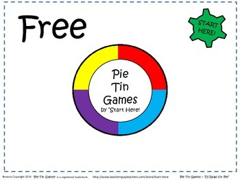 """Abstract Reading Skills - """"I'll Read For Pie!"""""""