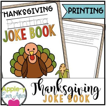 Thanksgiving PRINTING Joke Book