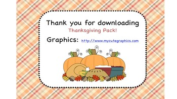 Thanksgiving Pack!