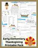 Thanksgiving Pack Elementary