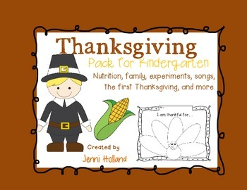 Thanksgiving Pack {New and Improved}