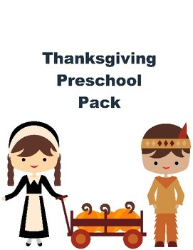 Thanksgiving Pack for Preschoolers