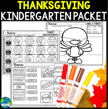 Thanksgiving Packet Now includes a journal and 2 Turkey books